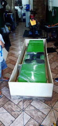Elevador de motos de  fabrica 350 kg - zap 24horas deixe seu número  - Foto 4