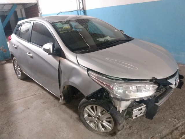 Toyota yaris xl plus tec 1.3 16v cvt 2019 sucata - Foto 3