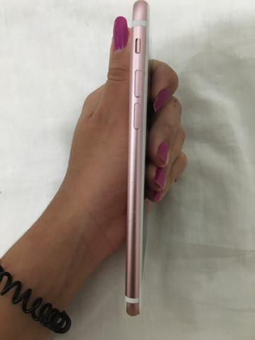 IPhone 7 rosé, sem marcas de uso - Foto 3