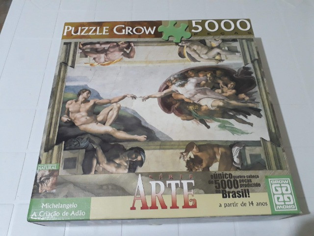 Quebra-Cabeça 5000 peças - Foto 2