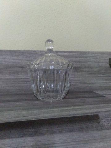 3 bomboniere de vidro