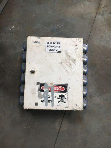 Quadro elétrico monofásico