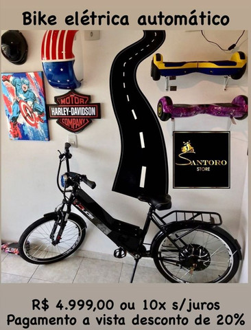 Bicicleta Elétrica parcelamos sem juros