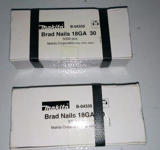 Pinos 18ga para Pinador Makita original, caixas com 5000 unidades - Foto 3
