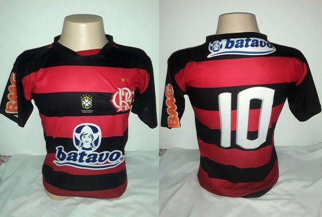 Camisas de Futebol do Flamengo - Foto 3