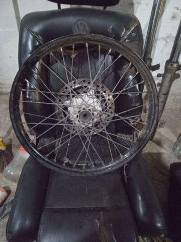 Vendo rodas de xre 300 - Foto 4