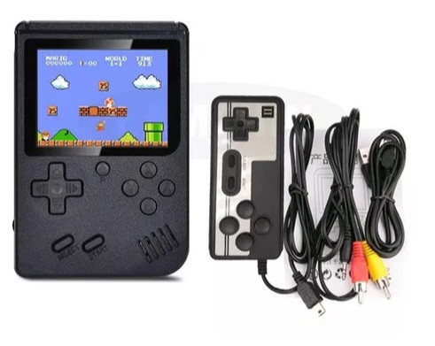 Mini Game Portátil Retro 400 Jogos Super Console + Controle - Foto 2