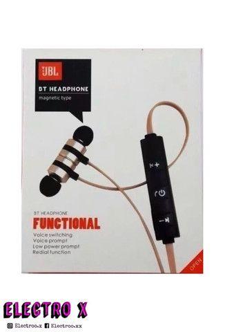 Fone De Ouvido Bt Magnetic Type Wireless Com Bluetooth