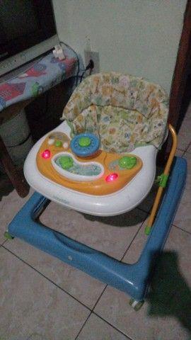 Carrinho de bebê e Andador - Foto 3