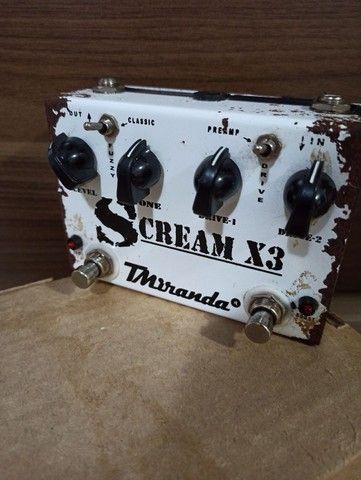 Pedal TMiranda Scream X3 Em Bom Estado - Foto 2