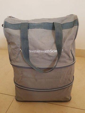 Bolsa sacola com fechos expansivos - 3 possíveis tamanhos - Foto 3