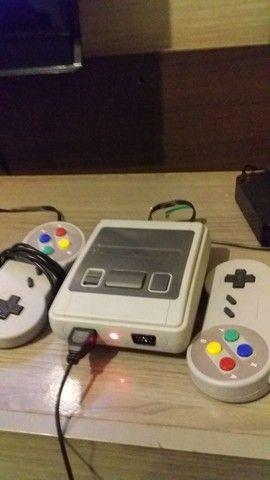 Video Game com 610 jogos - Foto 4