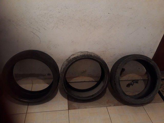 pneu  meia vida  - Foto 3