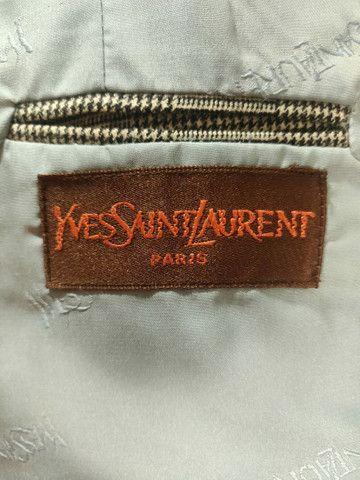 Terno importado da marca Yves Saint Laurent Vintage,Tamanho M - Foto 6