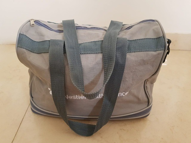 Bolsa sacola com fechos expansivos - 3 possíveis tamanhos
