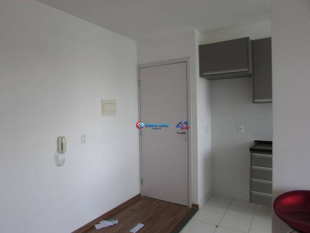 Apartamento com 2 dormitórios para alugar, 50 m² por R$ 750,00/mês - Parque Yolanda (Nova  - Foto 5