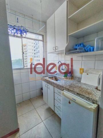Apartamento para aluguel, 1 quarto, 1 suíte, 1 vaga, Centro - Viçosa/MG - Foto 3