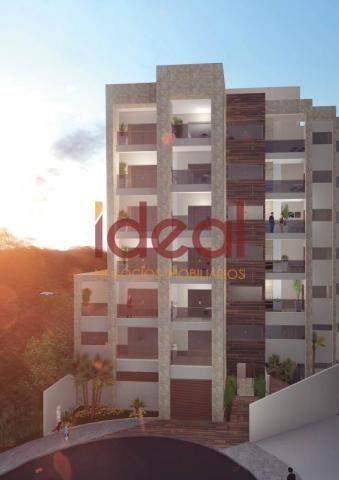 Apartamento à venda, 3 quartos, 1 suíte, 2 vagas, Santo Antônio - Viçosa/MG - Foto 2