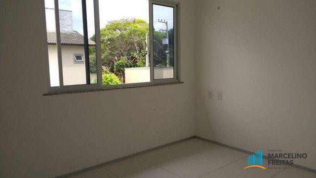 Casa com 3 dormitórios para alugar, 104 m² por R$ 1.109,00/mês - Lagoinha - Eusébio/CE - Foto 11