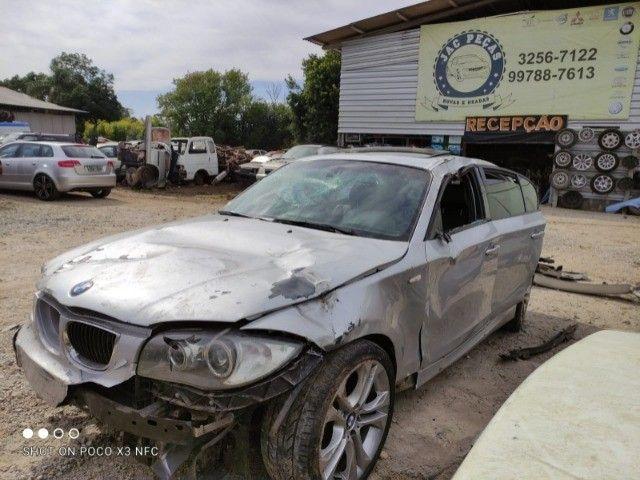 Sucata BMW 130i 24V 2011 Sport (automática)