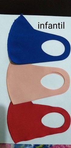 Máscaras neoprene tamanho padrão  - Foto 5