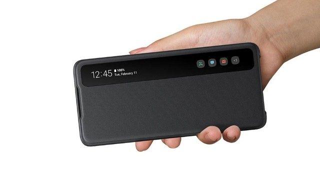 Capa Smart Clear View Para Galaxy S20 Ultra Original Samsung - Foto 3
