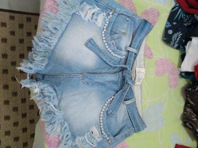 Shorts usados - Foto 3