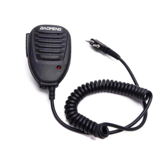 Ombro Rádio Alto-falante Microfone Para Baofeng 2 Pinos - Foto 2
