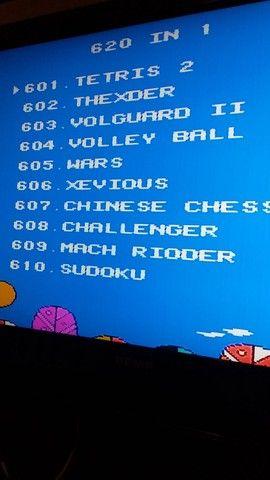Video Game com 610 jogos - Foto 2