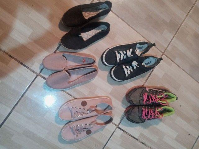 Vendo lote de calçados femininos!! Em ótimo estado