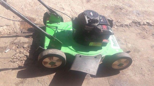 Cortador grama gasolina trapp revisado só no ponto de trabalhar.  - Foto 2