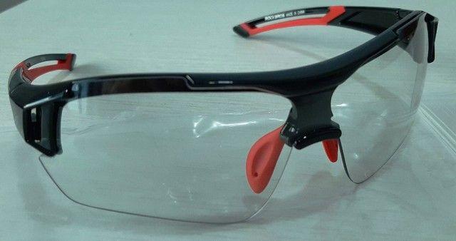Óculos De Ciclismo Rockbros RB - Lente Transparente - Foto 2
