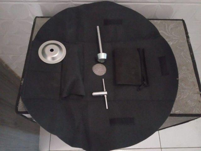 Trava antifurto estepe Fiat parafuso com chave codificada - Foto 2
