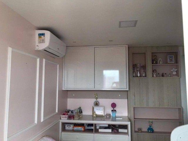 AB139 - Apartamento com 03 quartos/ piso porcelanato/ 02 vagas cobertas - Foto 4