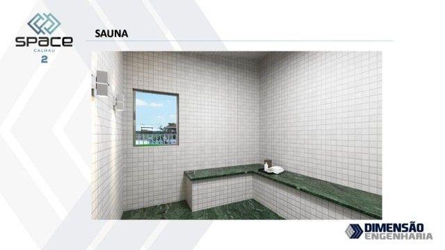 condomínio, no calhau- apartamento de 2 quartos, com suíte - Foto 2