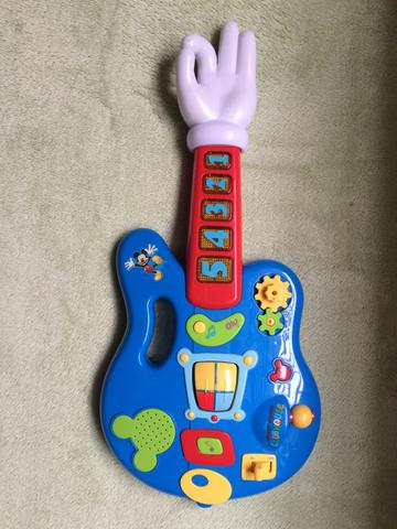 Guitarra do Mickey