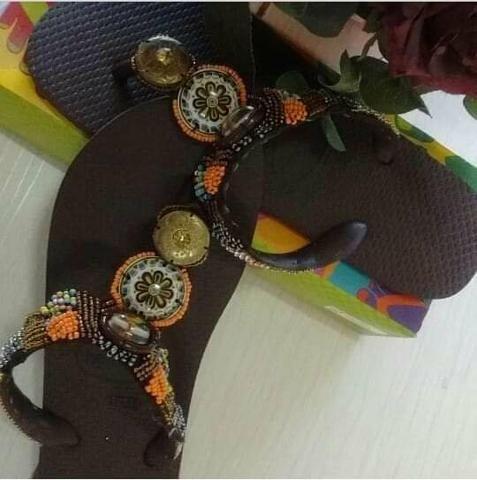 86b3c605e Chinelos bordados - Roupas e calçados - Vila Piratininga, Campo ...