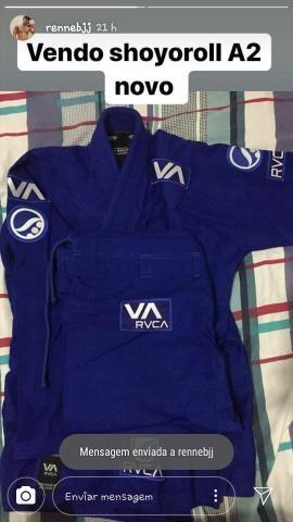 Kimono shoyoroll A2 azul novo