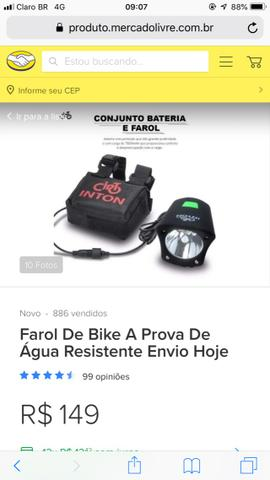 Lanterna bike super forte