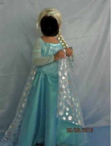 Fantasia/vestido da Frozen Lindo!
