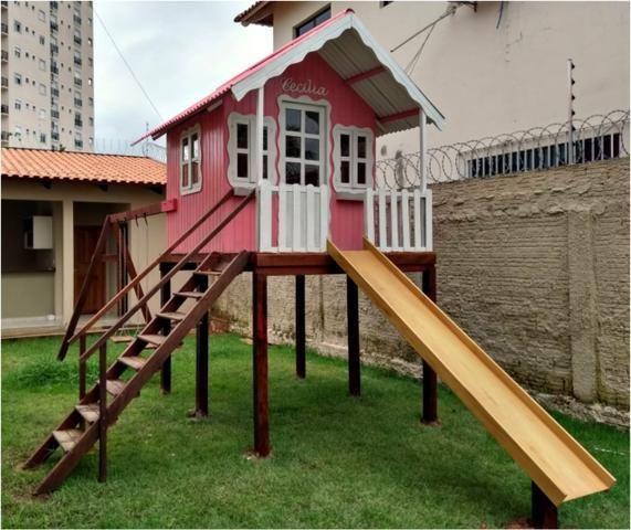 Casinhas em madeira para crianças - Foto 5