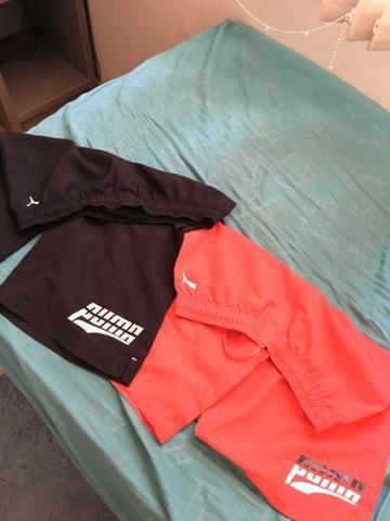Shorts puma original, e outros - Foto 2