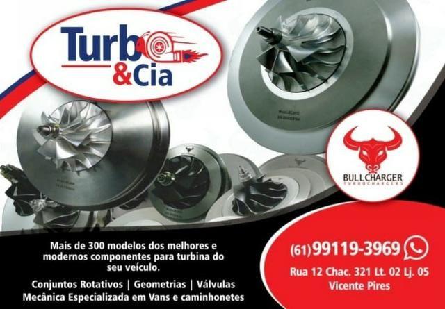Conjunto Rotativo Turbina Linha VW e Audi Golf, Up, Jetta, Passat, Pollo, Virtus, A4, A3
