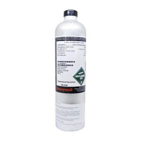 Cilindro P/ Calibração 4 Gases 34l - CH4-O2-H2S-CO