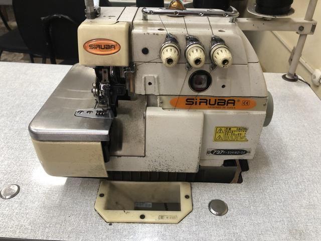 Máquina Industrial SIRUBA Overloque - Foto 4