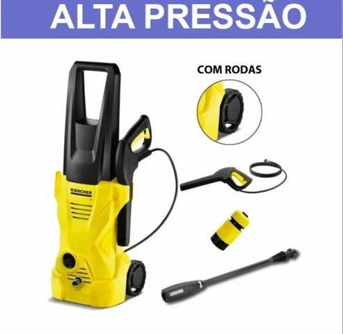 Lavadora de Alta Pressão com Rodinha - Foto 2
