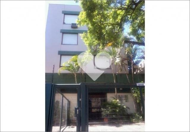 Apartamento para alugar com 1 dormitórios em Rio branco, Porto alegre cod:58474206