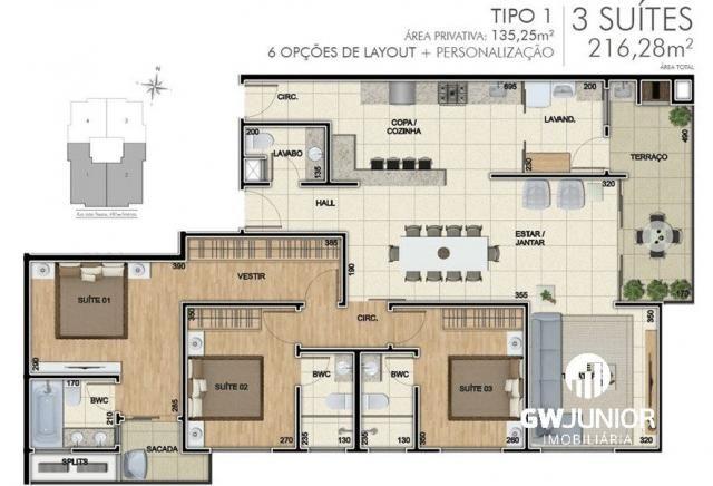 Apartamento à venda com 3 dormitórios em Santo antônio, Joinville cod:533 - Foto 20
