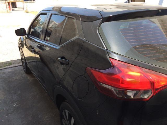 Nissan Kicks Sv 1.6 16v FlexStar 5portas Aut Preto Banco de Couro - Foto 4