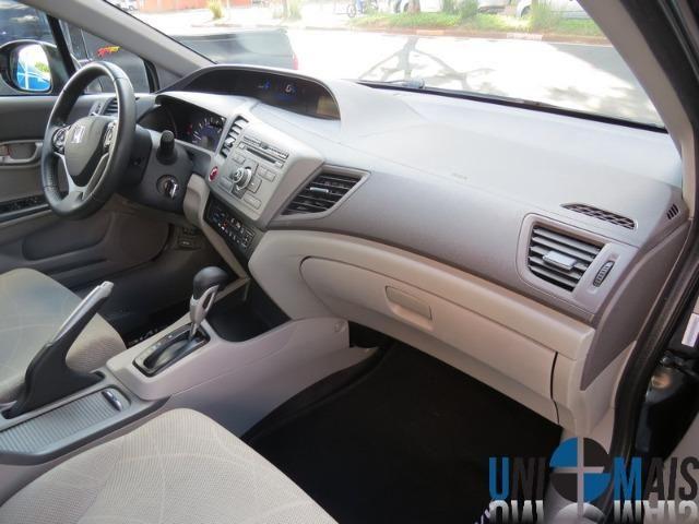 Honda Civic Automatico 2014 1.8 Lxs Completo Perfeito Estado Apenas 48.900 Lja - Foto 7